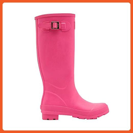 JOULES FIELD WELLY WOMEN'S TALL RAIN BOOTS CERISE PINK US 5 EU 36 - Outdoor shoes for women (*Amazon Partner-Link)