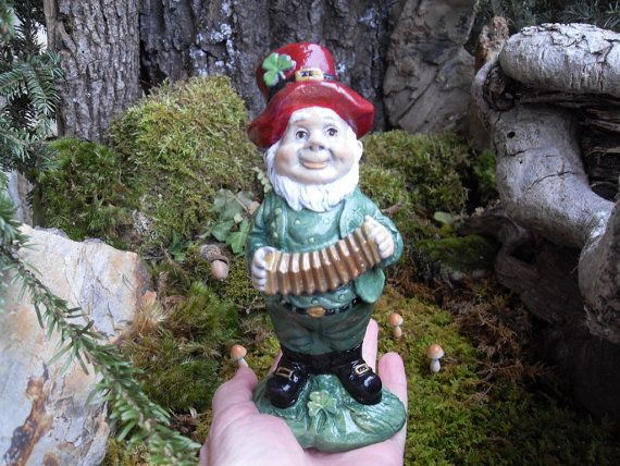 Leprechaun StatueFairy LeprechaunGarden Gnome by LaurelsFairyDoors