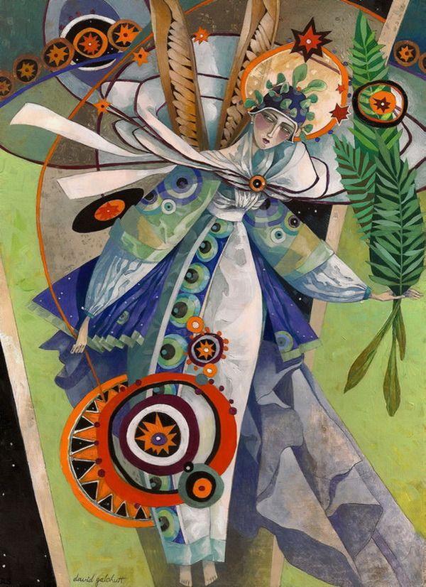 David Galchutt - illustrator/painter.