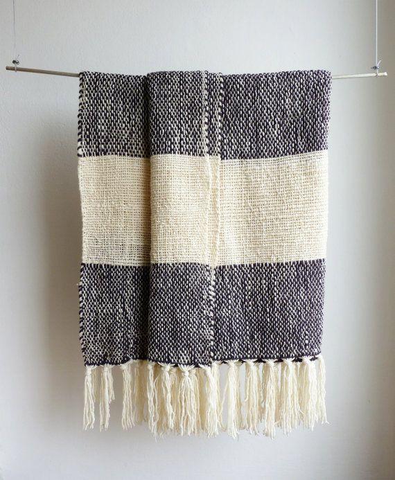 Large bed dress blanket Oversized Merino Wool Sofa throw