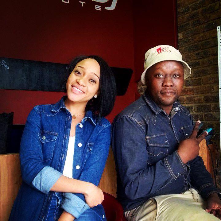 Thando Thabethe and Dj Maxxx