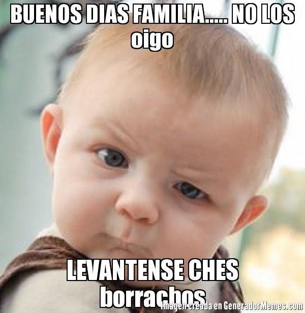 Buenas Noches Familia No Los Escucho Levantese Borrachos Chistes Citas Dobles Mesa De Cumpleanos Frases Hilarantes