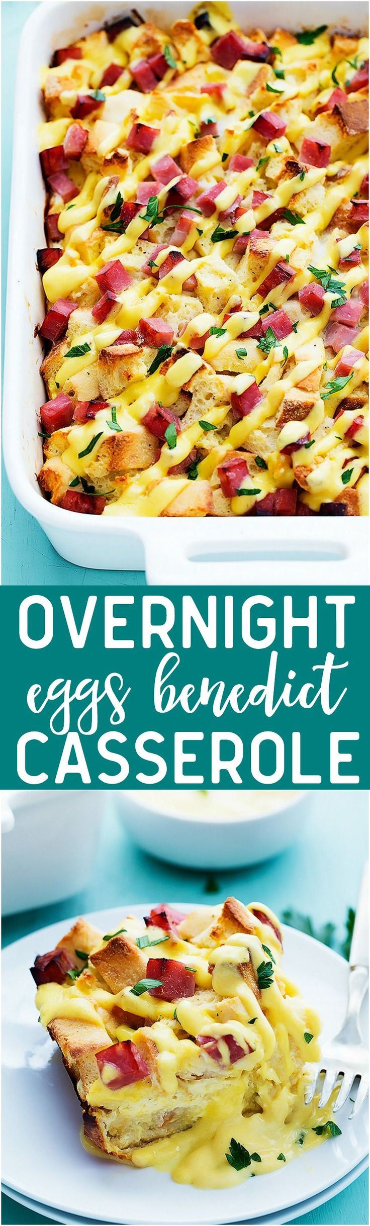 A fun and delicious twist on eggs benedict and all of the prep is done the night before! therecipecritic.com
