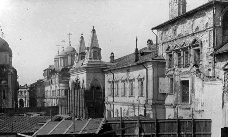 Гибель Чудова монастыря. 1929 г.