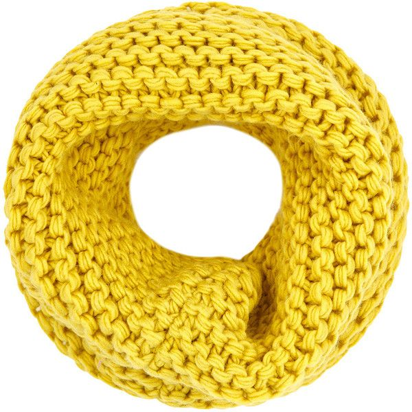 Accessorize Hilary Superchunky Snood ($33) ❤ liked on Polyvore featuring accessories, scarves, accessorize scarves, thick knit scarves, snood scarves and chunky knit scarves