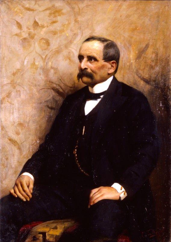 Tallone, Ritratto del conte Aldo Annoni