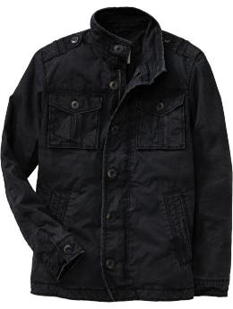 Men's Canvas Military Jackets {ON}