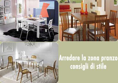 Arredare la zona pranzo della tua casa.  Scopri le novità su: http://www.arrediemobili.com/blog/arredi-zona-pranzo/