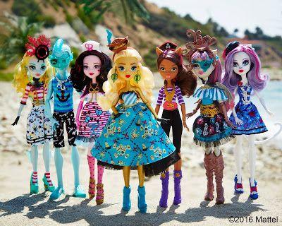 Куклы Монстер Хай Пиратская серия 2016