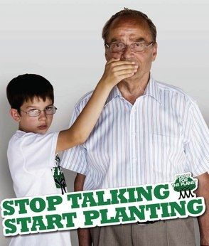 Felix Finkbeiner is a German youth who has found international fame because of his campaign to plant trees. It began as a class assignment when he was only 9 and has grown to international proportions.