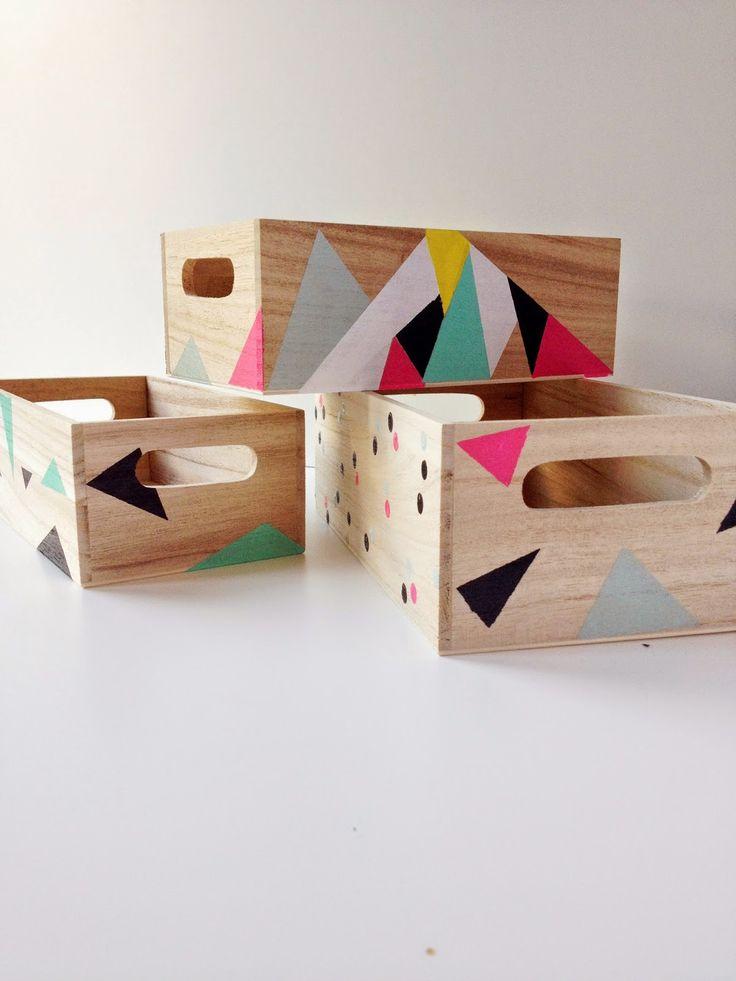 M s de 25 ideas incre bles sobre cajas de madera en for Ideas con cajas de madera