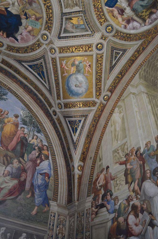 Бесценные шедевры Ватикана.Часть 8.Станцы Рафаэля