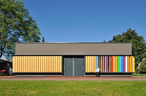 Kindergarden /  jure kotnik: Galleries, Kindergarden Colors, Changeable Colors, Kindergarten Kekec, Kindergarten Design, Kindergartens, Picture Gallery