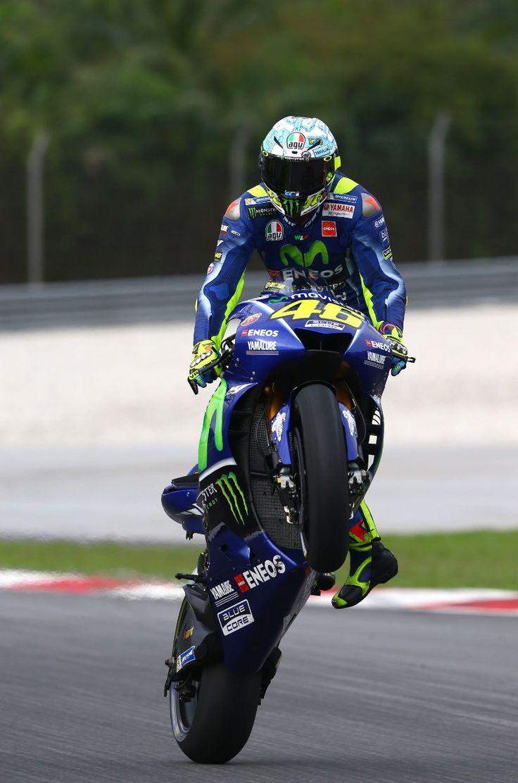 Rossi, Sepang MotoGP test, February 2017