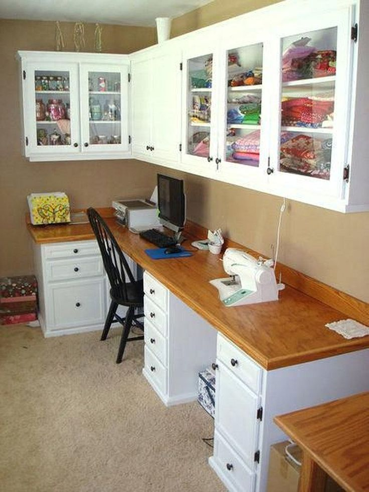 Creative Small Space Craft Room Organization Ideas