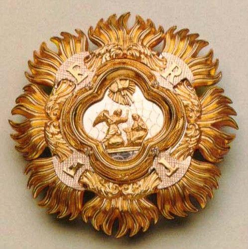 Placca dell'Ordine della Santissima Annunziata