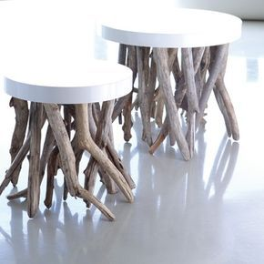 bleu nature drift wood furniture .