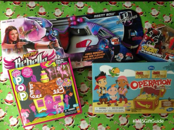 These Hasbro Toys made my 2014 Holiday Gift Guide! Find out why I like them so much on the blog now. #MBSGiftGuide #Hasbro #Toys