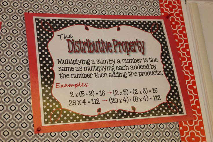 Make your classroom POP with these black, white and red Properties of Math Posters!  Other colors are available.