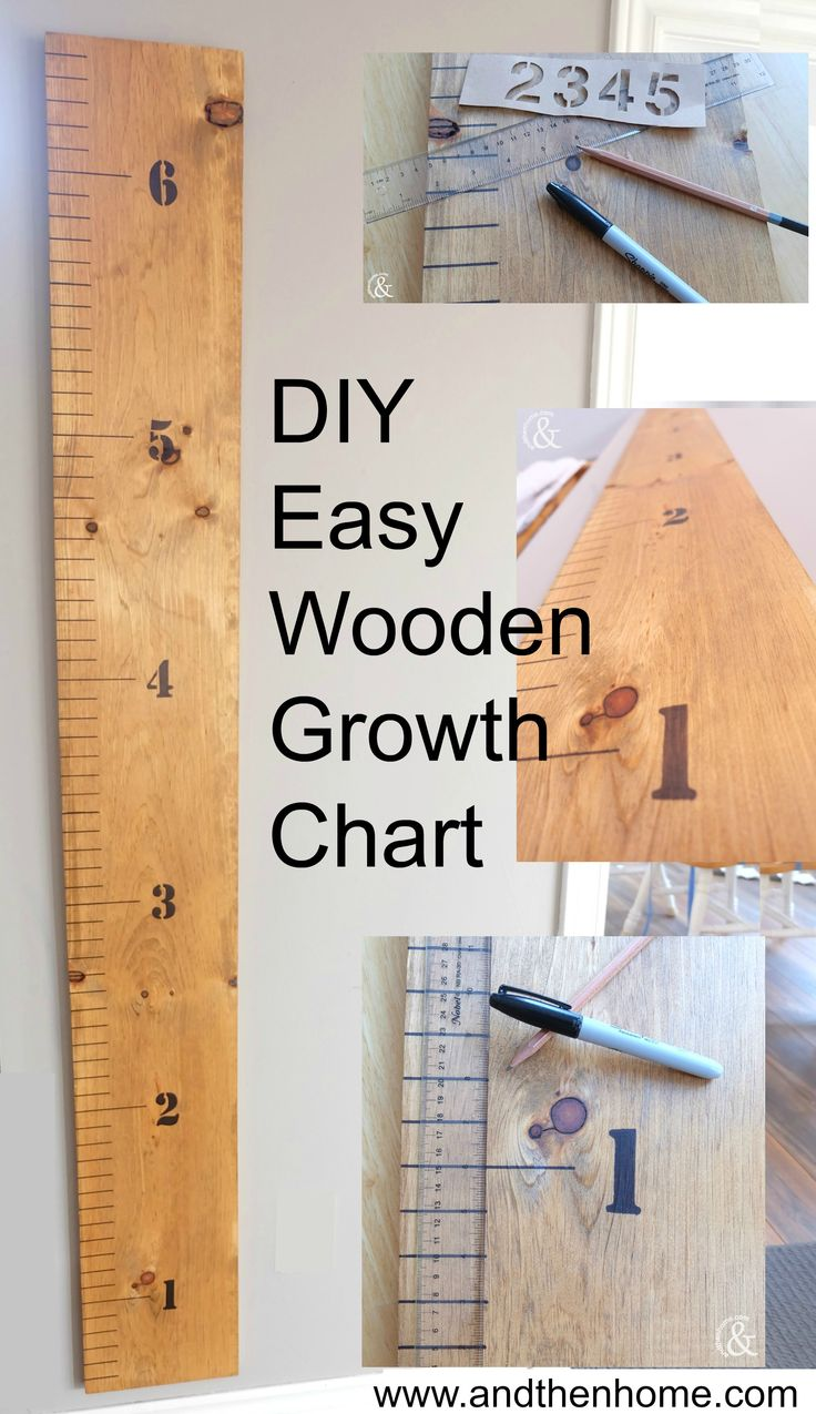 Best 25 wooden growth charts ideas on pinterest toddler growth i have been wanting to make a growth chart for my three girls since i saw them popping up on my newsfeed i have been procrastinating for a while thinking nvjuhfo Images