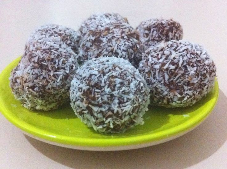 Sweets Recipes from the World: Swedish Chokladbollar