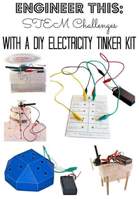 137 best tech robotics circuits images on pinterest science stem challenges with a diy electricity tinker kit solutioingenieria Gallery