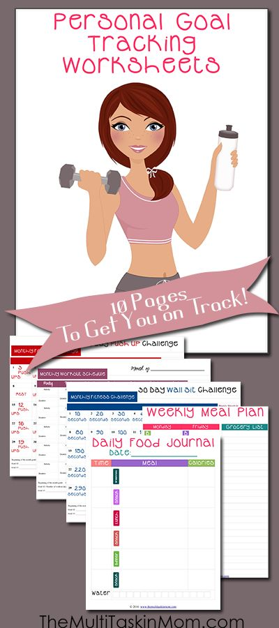 149 best Food and Exercise Journals images on Pinterest Weight - Free Fitness Journal Printable