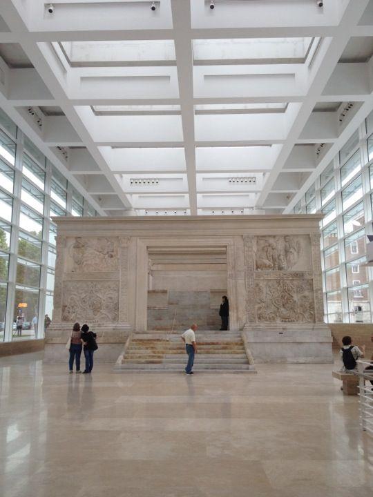 Museo dell'Ara Pacis nel Roma, Lazio