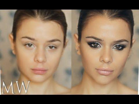 MW Яркий Вечерний Сексуальный Клубный Макияж / Clubbing Makeup Tutorial / Увеличиваем глаза