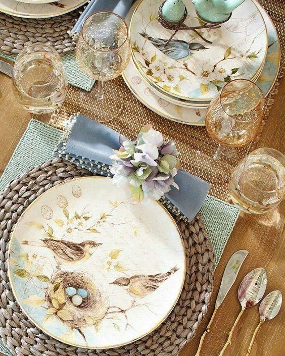 Fall Dining: 20+ Stunning Table Settings #momooze