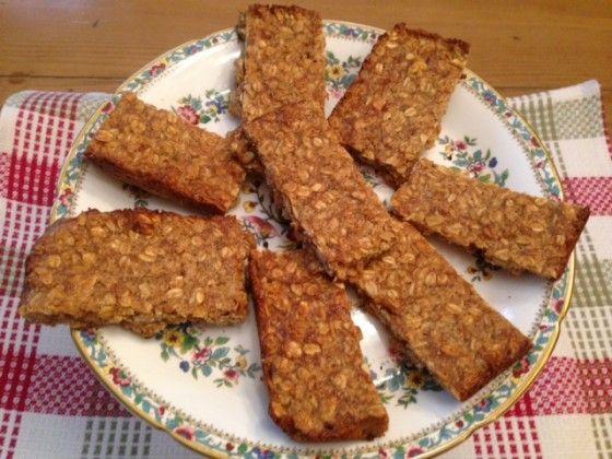 Isa's Peanut Butter Granola Bars From Forks Over Knives Cookbook