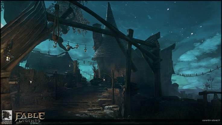 ArtStation - Fable Legends Last Night, Arena2 Hero Art View, Corentin Sibret