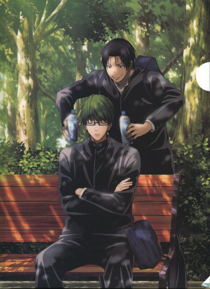 NO Takao, don't do it, Midorima will kill you lol | Kuroko no Basuke