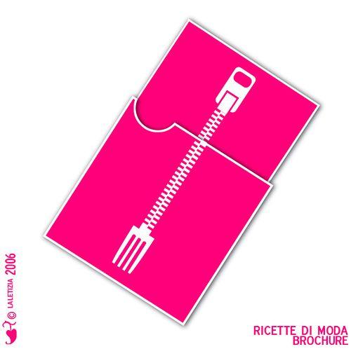 Ricette di Moda brochure // cool for invitation