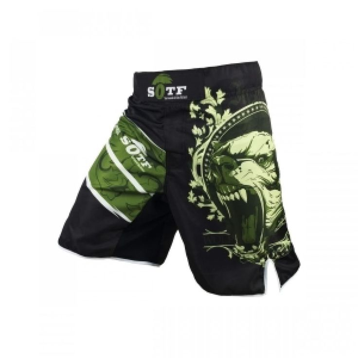 MMA Shorts The Black Bear Muay Thai Boxing Trunks Training Gym Sport Clothing  #Unbranded