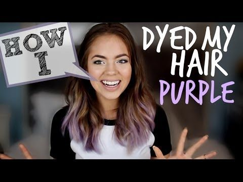 THUMBS UP if you like the purple hair!!! AHHH Follow my Twitter! http://www.twitter.com/ClaudiaSulewski Watch my last video: http://youtu.be/w5OmbNfzZ8g ∙•...