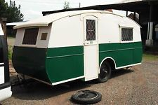 1936 eccles 60 lightweight. 4 berth.vintage caravan old caravan.classic caravan.