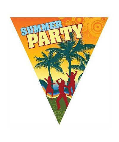 Vlaggenlijn summer party. Hawaii of tropisch feestje? Bij Fun en Feest vind je de leukste Hawaii feestartikelen, versiering en decoratie.