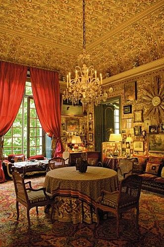The Parisian apartment of the Ornano family, entirely furnished by Henry Samuel