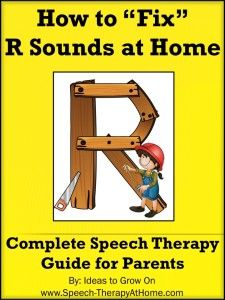 Complete guide to help parents work on R sounds at home. Assessment, Therapy Ideas, Game Ideas, Picture Cards and More. Speech Therapy at Home. $5.99