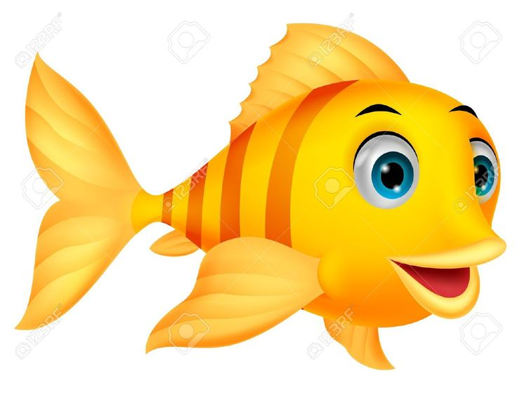 Cute Fish Cartoon Royalty Free Cliparts Vectors And Stock