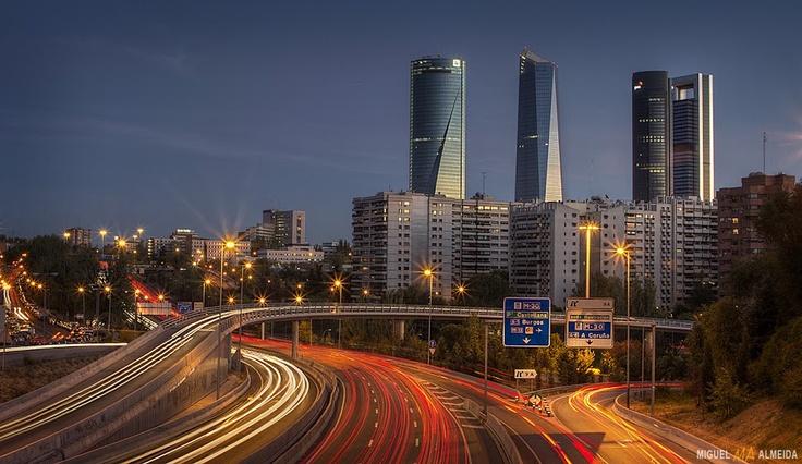 Cuatro Torres, Madrid, Spain