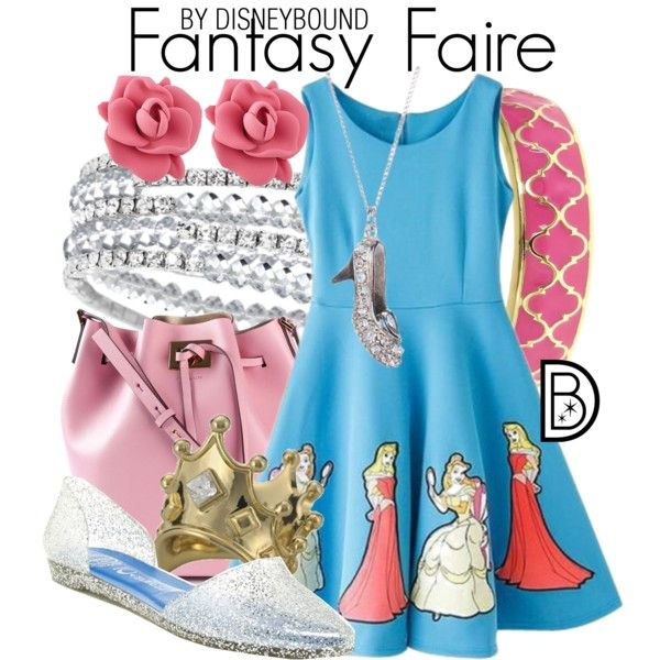 Celebrate all of your favorite princess with this Fantasy Faire outfit | Disney Fashion | Disney Fashion Outfits | Disney Outfits | Disney Outfits Ideas | Disneybound Outfits |