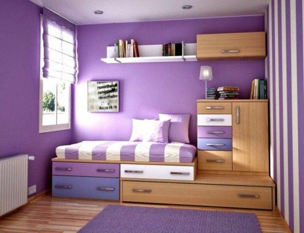 die besten 25+ lila zimmer ideen auf pinterest - Schlafzimmer Lila Wand