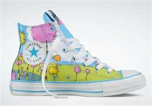 Dr. Seuss Converse  <3<3<3Adore the Colours/Pastels on these relaxed/comfy footwear<3<3<3 @