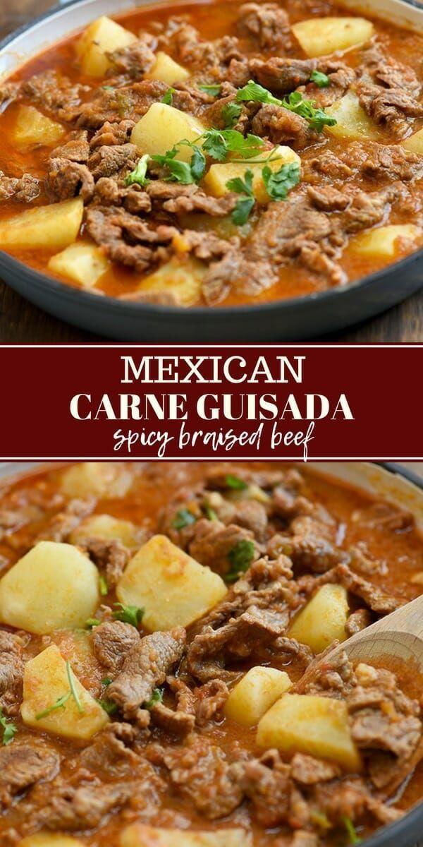 Carne Guisada Recipe Mexican Food Recipes Authentic Mexican Food Recipes Beef Recipes
