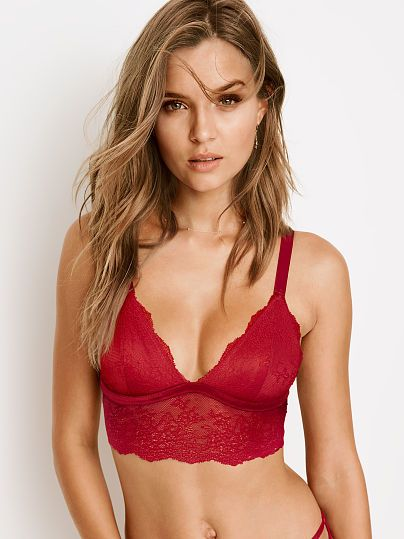 e3bf94a762889 Chantilly Lace Long Line Bralette from Victoria Secret  24.50 or 2  30.00