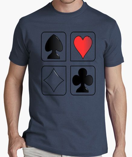 Camiseta CARTAS POKER