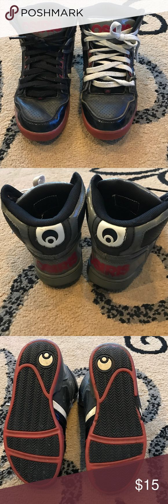 Boys Osiris Hightops Boys Osiris Hightops Size 4 Osiris Shoes Sneakers