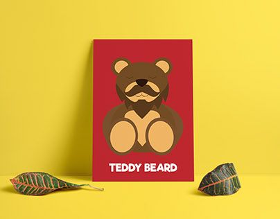 "Check out new work on my @Behance portfolio: ""Teddy Beard"" http://be.net/gallery/52815697/Teddy-Beard"